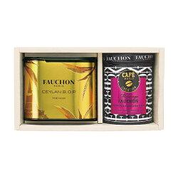 フォション(FAUCHON) 紅茶・グラインドコーヒー詰合せ