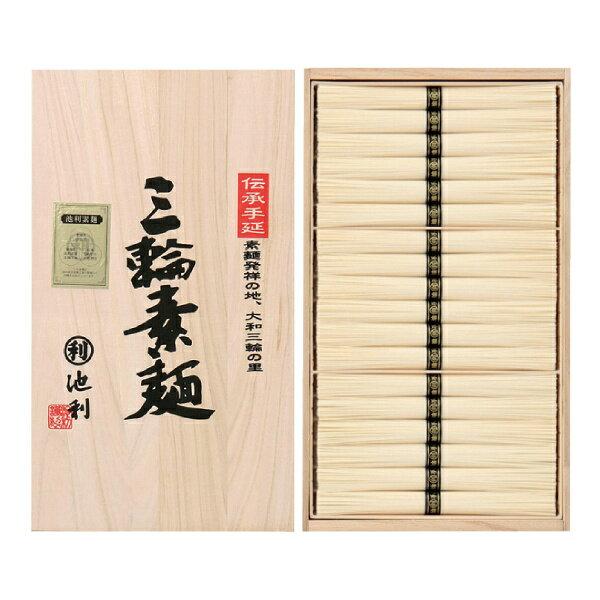 <奈良・池利>手延三輪素麺詰合せ(36束)