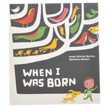 【日本語単語帳付】When I Was Born (イギリス)|※包装のしメッセージカード無料対応 ※1お届け先につき5400円以上お買い上げで送料無料