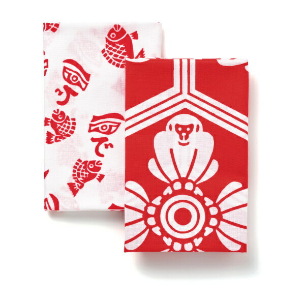 東京和晒 手ぬぐいセット(縁起干支)