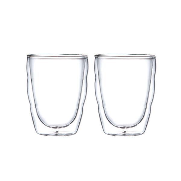bodum(ボダム) ピラトゥスダブルウォールグラス0.25L