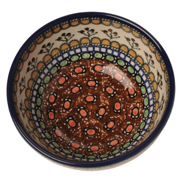  セラミカ(ツェラミカ)ラウンドボウル14cm ポーリッシュポタリー(ポーランド陶器・北欧・Ceramika Artystyczna) ※包装のしメッセージカード無料対応