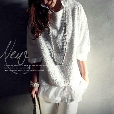 変わり織り、膨れ織り、ワッシャー加工。『表情豊かなこのシャリ感。』12月26日10時〜発売!こ…