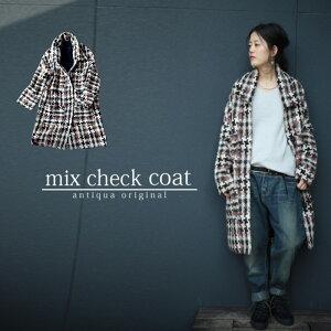 ファッション ミックス チェック デザイン