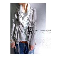"""『着れば体型できる、不思議な""""ギャザーデザイン""""』シャツ×カットソーで作るマニッシュスタイル。レイヤードトップス##"""
