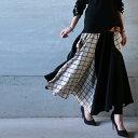 抜群の品と、女性らしさを醸し出す。ウィンドペン切替スカート・10月31日20時〜発売。(100)◎メール便可!