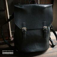 """長く使える""""本物""""をお探しの方へ。『大き目・本革・リュック。』このバッグと共に歩む。本革デザインリュック##"""