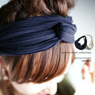 髪にもプリーツ素材を。『万能カラー、ひと癖デザイン。』3月29日20時〜発売!ヘアアレンジ映える季節!プリーツ素材クロスヘアバンドh3