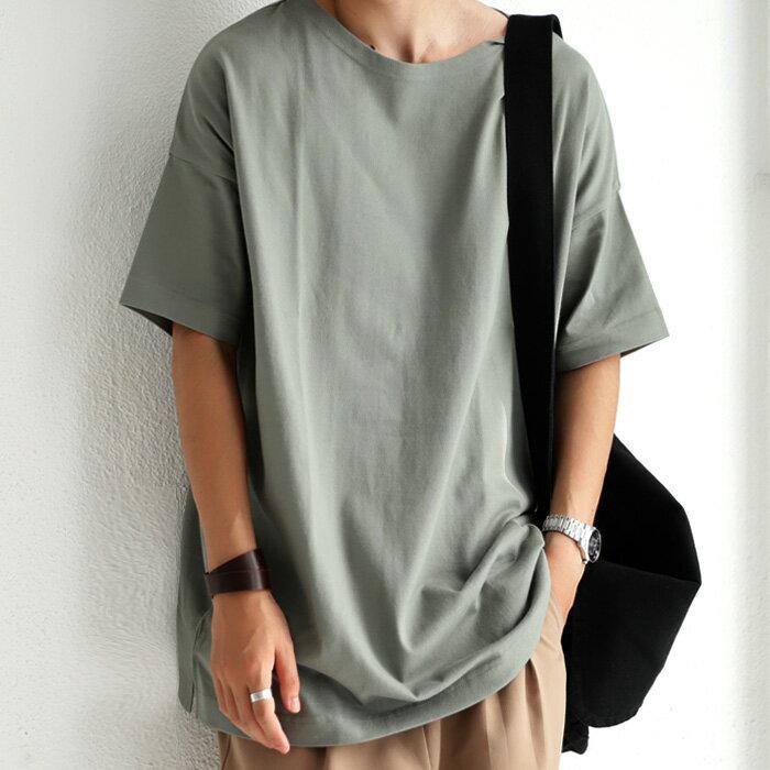 新色追加!お洒落。ベーシックこそ流行り廃りなく長く着たい。バスクTシャツ・7月29日0時~再再販。(100)◎メール便可!...