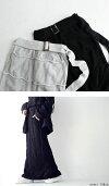 波打つ柄が表情豊かに。すっきり、褒められIライン。綿ニットスカート・##×メール便不可!