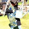 antiquatoyoriginal!柄切替変形ワンピース☆花柄レトロキッズ子供服6月23日20時〜再販!##【999】