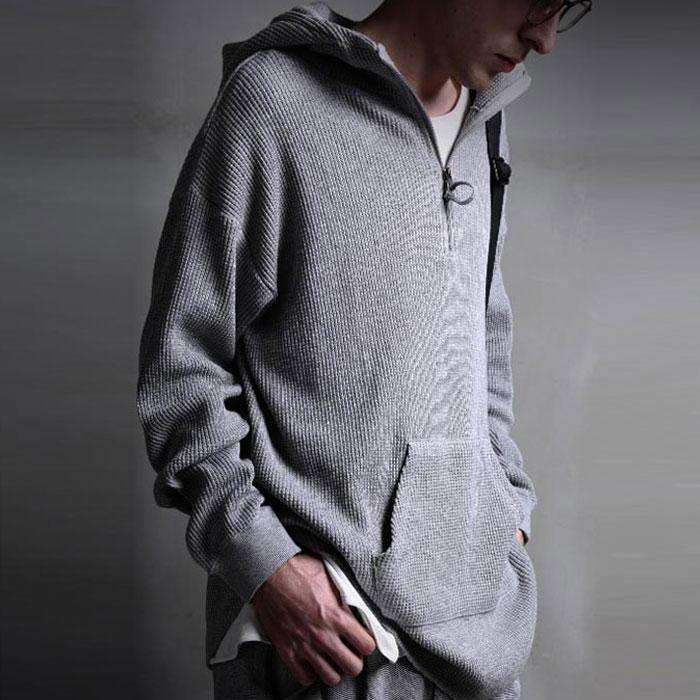 極上柔らかワッフルでラフで格好良いスタイルに。ワッフルパーカー・2月8日20時~発売。×メール便不可!x9...