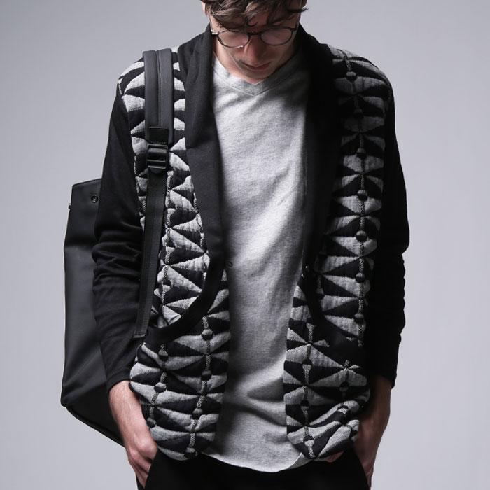ラストバーゲン開催!3日間限定!洗練された大人の雰囲気。幾何学柄デザインジャケット・再再販。##×メール便不可!【202B】...