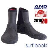 予約販売2018ANDNEWYOU4ミリサーフブーツ起毛撥水リーフブーツサーフィンブーツシューズマリンブーツコンビニ受取対応商品