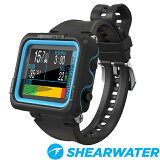 SHEARWATERシェアウォーターPeregrineペレグリンダイブコンピュータダイビング腕時計ダイコン充電式バッテリー