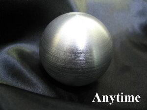 丸型シフトノブ アルミシルバー