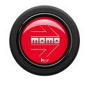 正規品!【MOMO/モモ】ホーンボタン ARROW RED(アロー レッ...