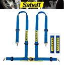 Sabelt(サベルト)シートベルト レーシングハーネス4点式CLU...