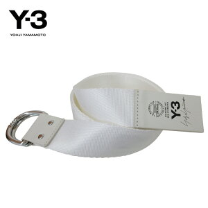 Y-3【ワイスリー】Y-3LOGOBELT【ロゴベルト】【WHITE】【CY3535】YohjiYamamotoadidasナイロンダブルリングブランドユニセックスロゴワンポイントモードストリート2018人気オススメギフトホワイトあす楽対応