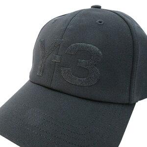 Y-3(ワイスリー)Y-3LOGOCAP(ロゴキャップ)(BLACK)(FH9290)YohjiYamamotoadidasメンズレディース男女兼用ユニセックスハット帽子ブラック黒人気定番あす楽対応