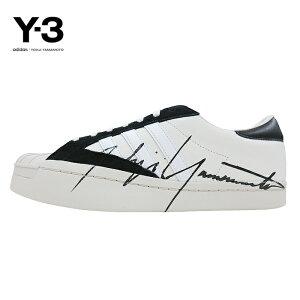 Y-3(ワイスリー)Y-3YOHJISTAR(ヨージスター)(OFFWHITE/BLACK/ECRU)(EH2267)YohjiYamamotoadidasヨウジヤマモトアディダススーパースタースニーカーシューズモードストリートホワイト白あす楽対応