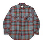 FOG-FearOfGod�ڥ��ե��������ե������֥��åɡۡ�PLAIDFLANNELLONGSLEEVEBUTTONUPSHIRT�ۡ�GRAY/RED/BLACK/YELLOW��ŵ�����L/SSHIRT���졼�֥�å���åɥ����?���ʤ������б�