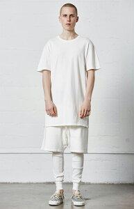 FOG-FearOfGod【エフオージーフィアオブゴッド】【EssentialsBasicT-Shirt】【WHITE】半袖無地ロング丈S/ST-SHIRTSHORTSLEEVEホワイト新品あす楽対応