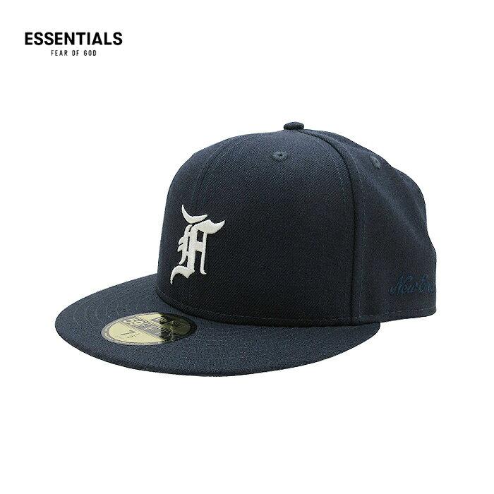 メンズ帽子, キャップ ESSENTIALS FEAR OF GOD NEW ERA( )59FIFTY(NAVY) FOG JERRY LORENZO