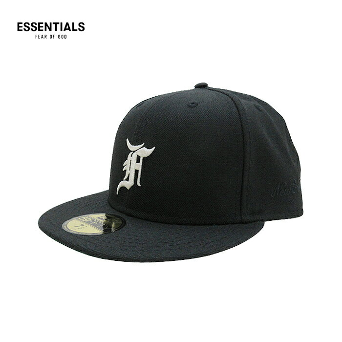 メンズ帽子, キャップ ESSENTIALS FEAR OF GOD NEW ERA( )59FIFTY(BLACK) FOG JERRY LORENZO