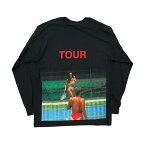 KANYEWESTSAINTPABLOTOURオフィシャルロングスリーブTシャツ【KIMKARDASHIAN】【BLACK】ブラック新品あす楽対応