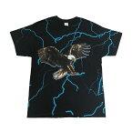 TravisScott【トラビス・スコット】オフィシャルプリントTシャツ【BirdsintheTrapSingMcKnight/LIGHTNINGBIRDS】【BLACK】半袖新品あす楽対応