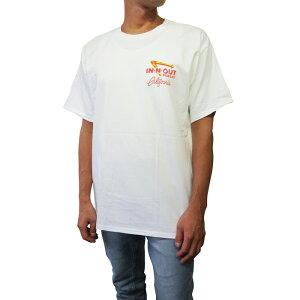 カリフォルニア直輸入IN-N-OUTBURGER【インアウトバーガー】プリントTシャツ【2004/FreshandFast】【WHITE】半袖プリントオフィシャルアイテムオフィシャルライセンスTシャツ新品正規ホワイト白あす楽対応
