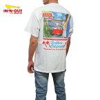 カリフォルニア直輸入IN-N-OUTBURGER【インアウトバーガー】プリントTシャツ【1990T-SHIRT】【WHITE】半袖プリントオフィシャルアイテムオフィシャルライセンスTシャツ新品正規ホワイト白あす楽対応