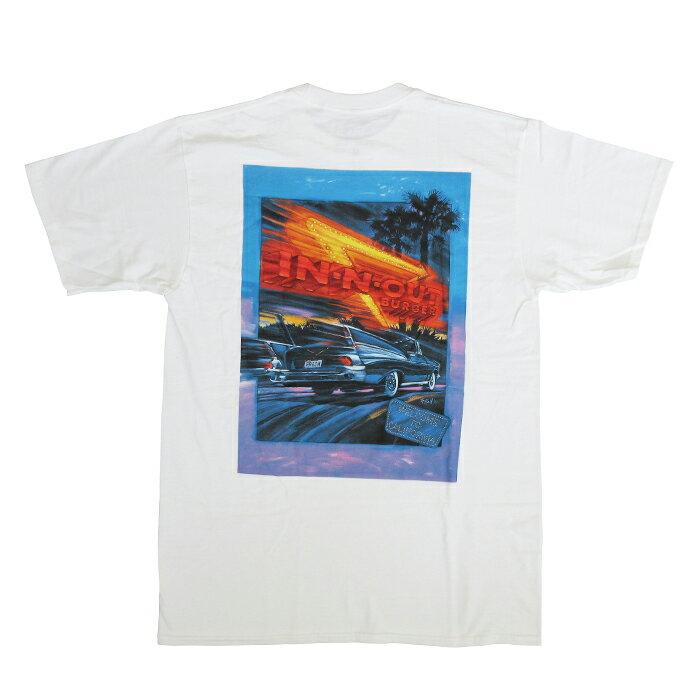 トップス, Tシャツ・カットソー  IN-N-OUT BURGERT1991Welcome to CaliforniaWHITE T