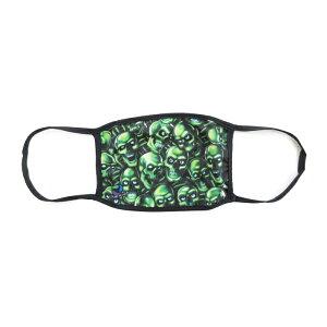 LIQUIDBLUEスカルフェイスマスク(SKULLPILEFACECOVERING)(BLACK/GREEN)FACEMASKGLOWINTHEDARK海外限定あす楽対応レターパック対応