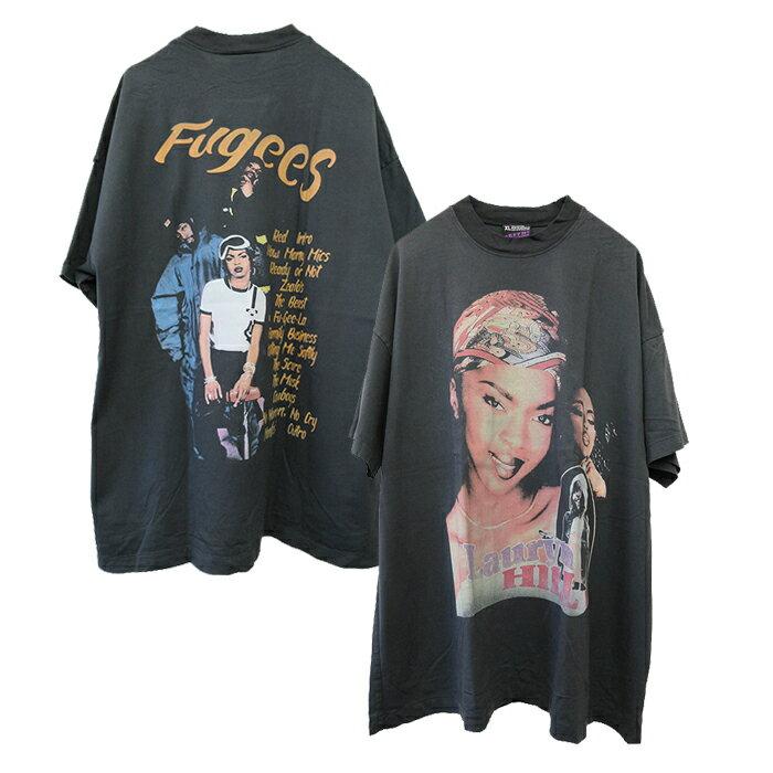 トップス, Tシャツ・カットソー effnclothing LAURYN HILL FUGEES GRAPHIC T-SHIRT(CHARCOAL GRAY) T RAP TEE RAPTEES HIPHOP