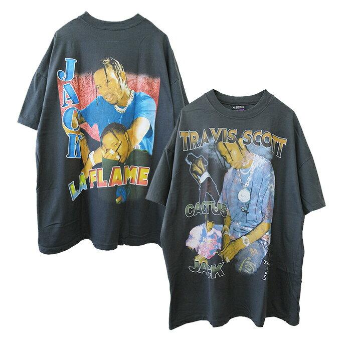 トップス, Tシャツ・カットソー effnclothing TRAVIS SCOTT GRAPHIC T-SHIRT(CHARCOAL GRAY) T RAP TEE RAPTEES HIPHOP CACTUS JACK NIKE