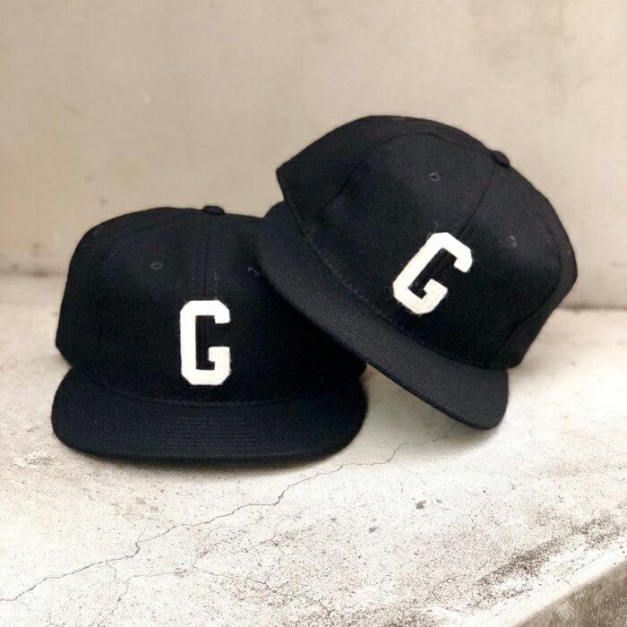 メンズ帽子, キャップ  EBBETS FIELD FLANNELS()Homestead Grays 1945 Vintage Ballcap(BLACK)CAP FEAR OF GOD Jerry Lorenzo