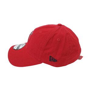 NEWERA【ニューエラ】9TWENTYキャップ【LOSANGELESANGELS/ロサンゼルスエンゼルス】【RED】MLBNEWERA帽子メンズレディースローキャップサイズ調整コットンキャップブランドメンズキャップダンスダンサー衣装レッド赤あす楽対応