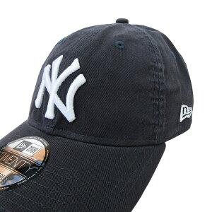 NEWERA【ニューエラ】9TWENTYキャップ【NEWYORKYANKEES/ニューヨークヤンキース】【NAVY】MLBNEWERA帽子メンズレディースローキャップサイズ調整コットンキャップブランドメンズキャップダンスダンサー衣装ネイビー紺あす楽対応
