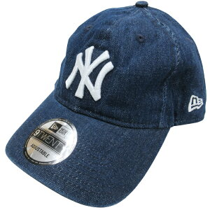海外限定モデルNEWERA×LEVIS(ニューエラ×リーバイス)9TWENTYADJUSTABLECAP(NEWYORKYANKEES)(DARKWASH)帽子野球ベースボーコラボキャップメジャーリーグヤンキースMLBデニムダークウォシュメンズレディース男女兼用あす楽対応