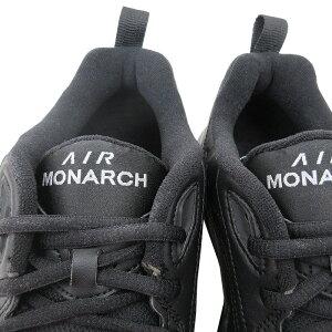 海外限定モデルNIKE【ナイキ】NIKEAIRMONARCHIV【BLACK/BLACK】415445001ナイキエアモナークスニーカーシューズブラック黒DADSHOESダッドシューズあす楽対応