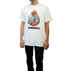 "DeadstockUSA製90sNIKE""JORDAN'SBACK""プリントTシャツ(WHITE)DEADSTOCKデッドストックタグ付き90年代ナイキジョーダン半袖メンズレディースユニセックス男女兼用ホワイトあす楽対応レターパック対応"