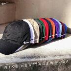 あす楽対応送料無料海外限定NIKE(ナイキ)コットンツイルキャップ(NIKEHERITAGE86CAP)(12カラー)102699SWOOSHGOLFDADCAP無地ローキャップワンポイントキャップ帽子スポーツスウッシュロゴ男女兼用メンズレディースユニセックス