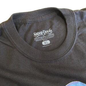 SNOOPDOGG【スヌープ・ドッグ】オフィシャルライセンスTシャツ【PHOTO】【BLACK】アーティスト半袖プリントS/ST-SHIRTOfficiallicense新品ブラックあす楽対応