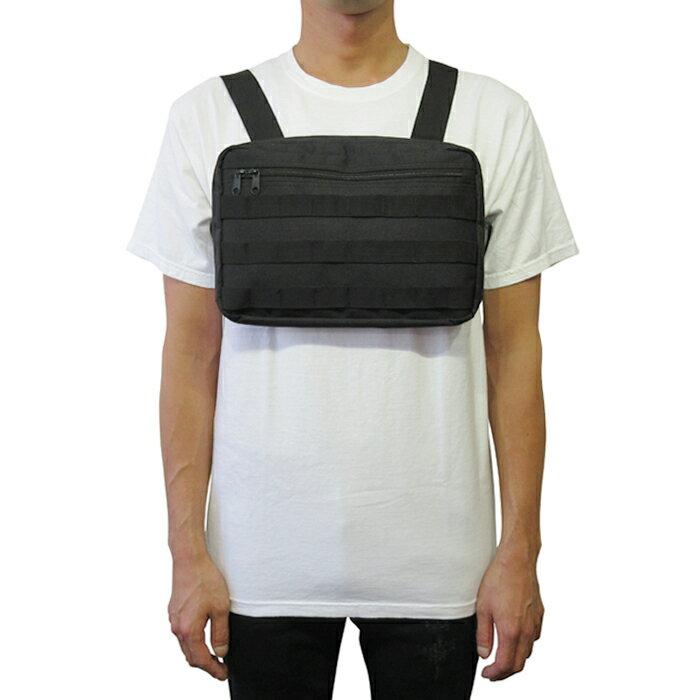 メンズバッグ, ボディバッグ・ウエストポーチ CHEST RIG BODY BAG(BLACK) KANYE WEST