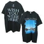 PINKFLOYD(ピンク・フロイド)オフィシャルライセンスTシャツ(WISHYOUWEREHERE)(BLACK)新品半袖オーバーサイズビックサイズビッグTKANYEWESTTRAVISSCOTTカニエウエストトラビススコットあす楽対応レターパック対応