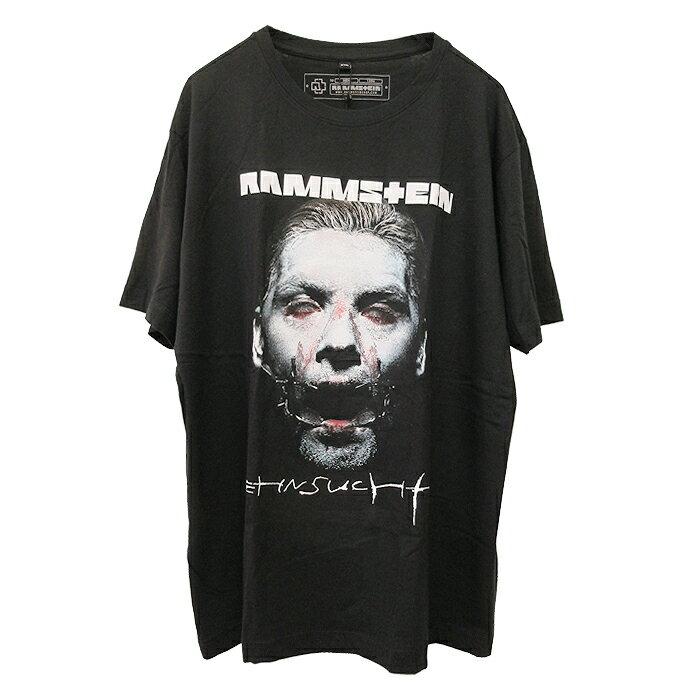 トップス, Tシャツ・カットソー RAMMSTEIN() T(SEHNSUCHT SCHNEIDER T-SHIRT)(BLACK) T Vetements BALENCIAGA DEMNA GVASALIA TRAVIS SCOTT
