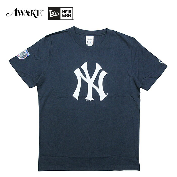 トップス, Tシャツ・カットソー  AWAKE NY NEW ERASUBWAY SERIES TEE NEW YORK YANKEES NAVY T