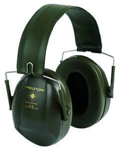 イヤーマフH515ブルズアイIミリタリーグリーンぺルター製(遮音値/NRR21dB)(3M/PELTOR)(防音/しゃ音/騒音対策)